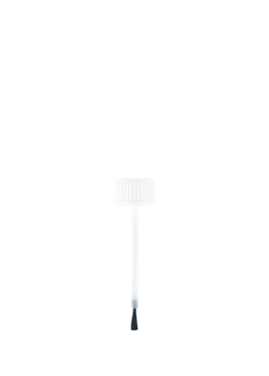 Verschluss mit Pinsel