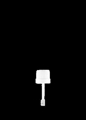 Closure with spatula