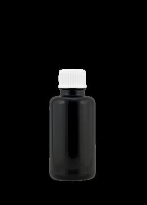 Tropfflasche 30 ml violett mit Allround-Schraubverschluss mit Allround-Tropfer