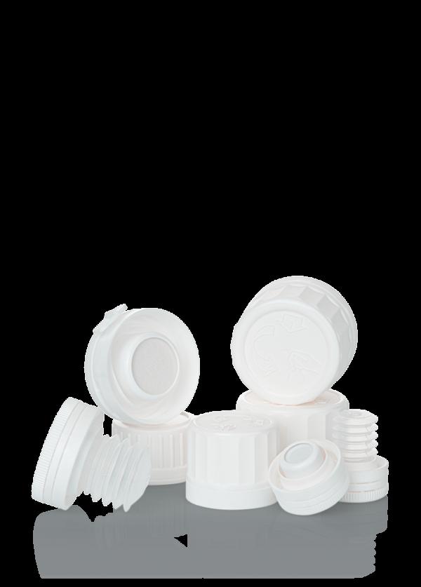 Verschluss mit Tablettenbremse und Trockenkapsel