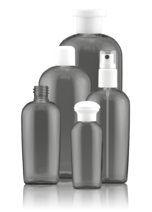 Oval bottle PET