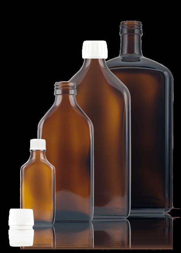 Vierkant-Medizinflasche