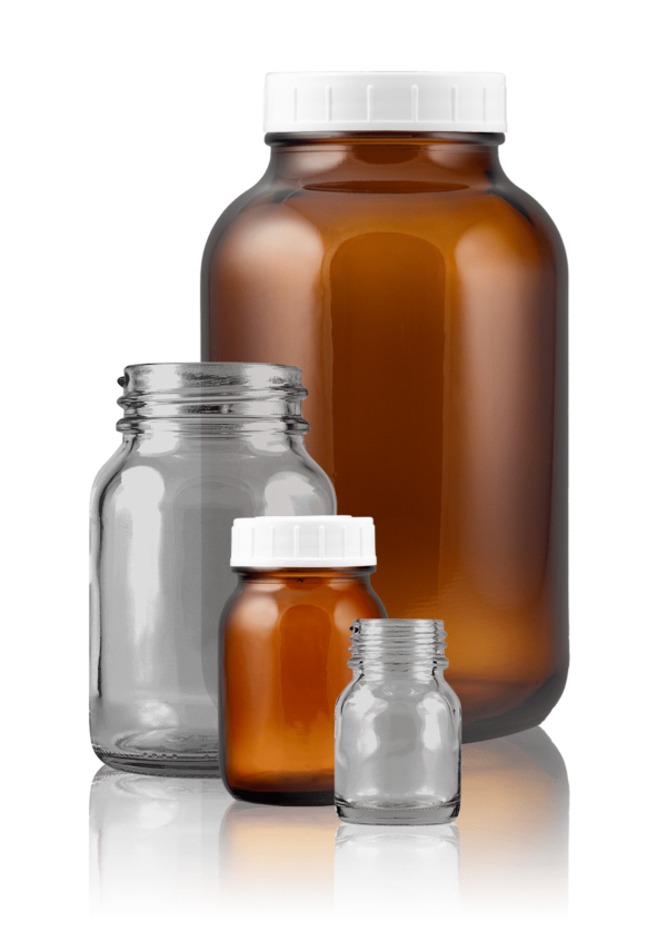 Wide-mouth jar