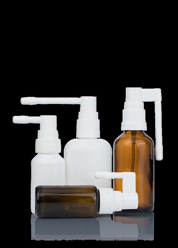 Oral spray system
