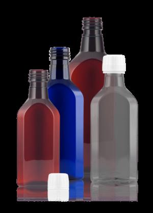 Meplat-Flasche PET