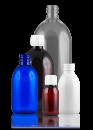 Syrup bottle PET