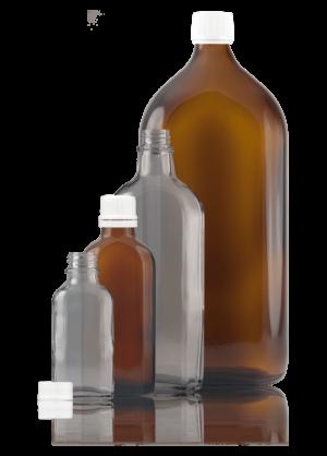 Meplat-Flasche