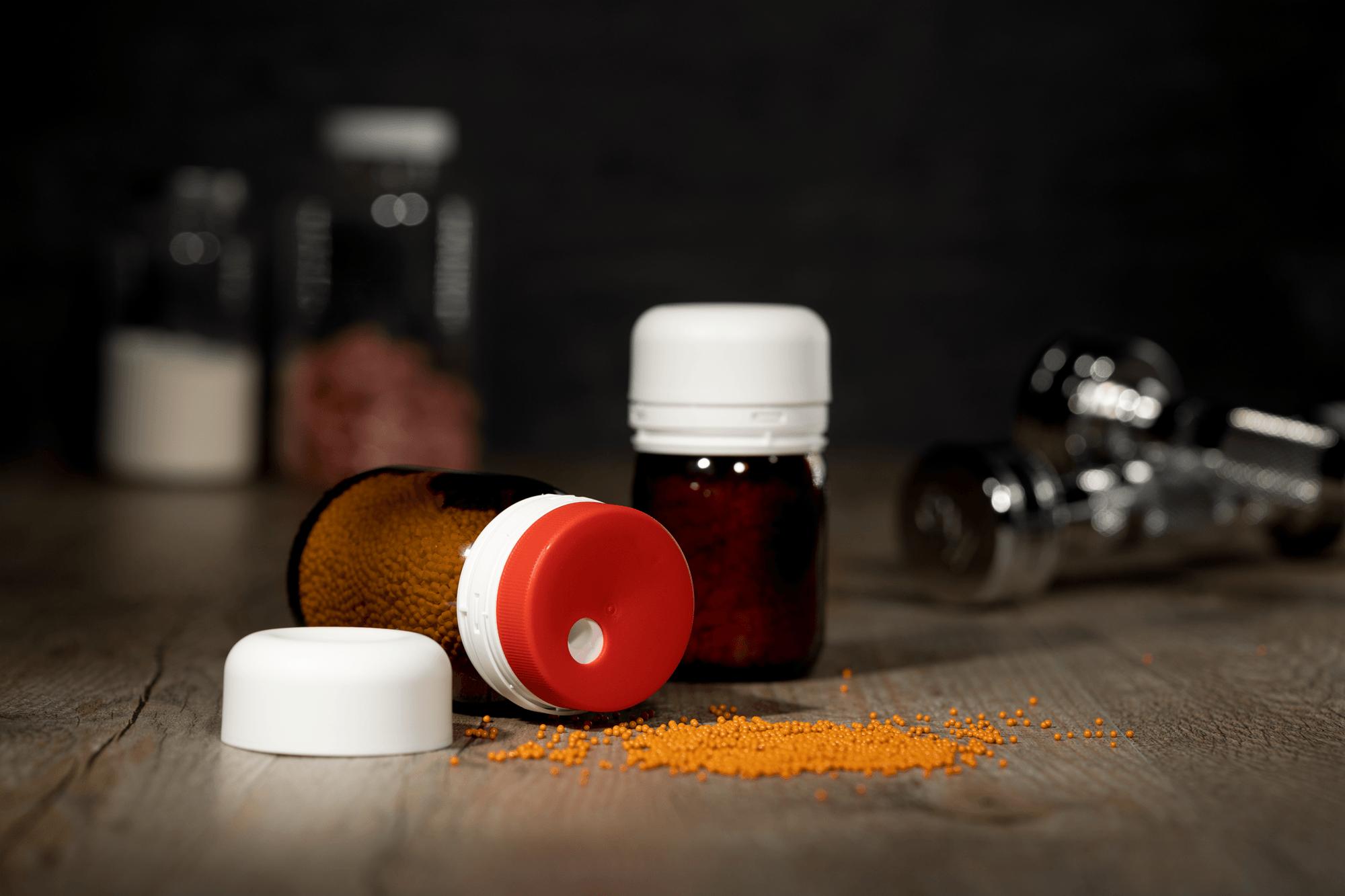 Granulatdosierer: Anwendungsbeispiel Nahrungsergänzung