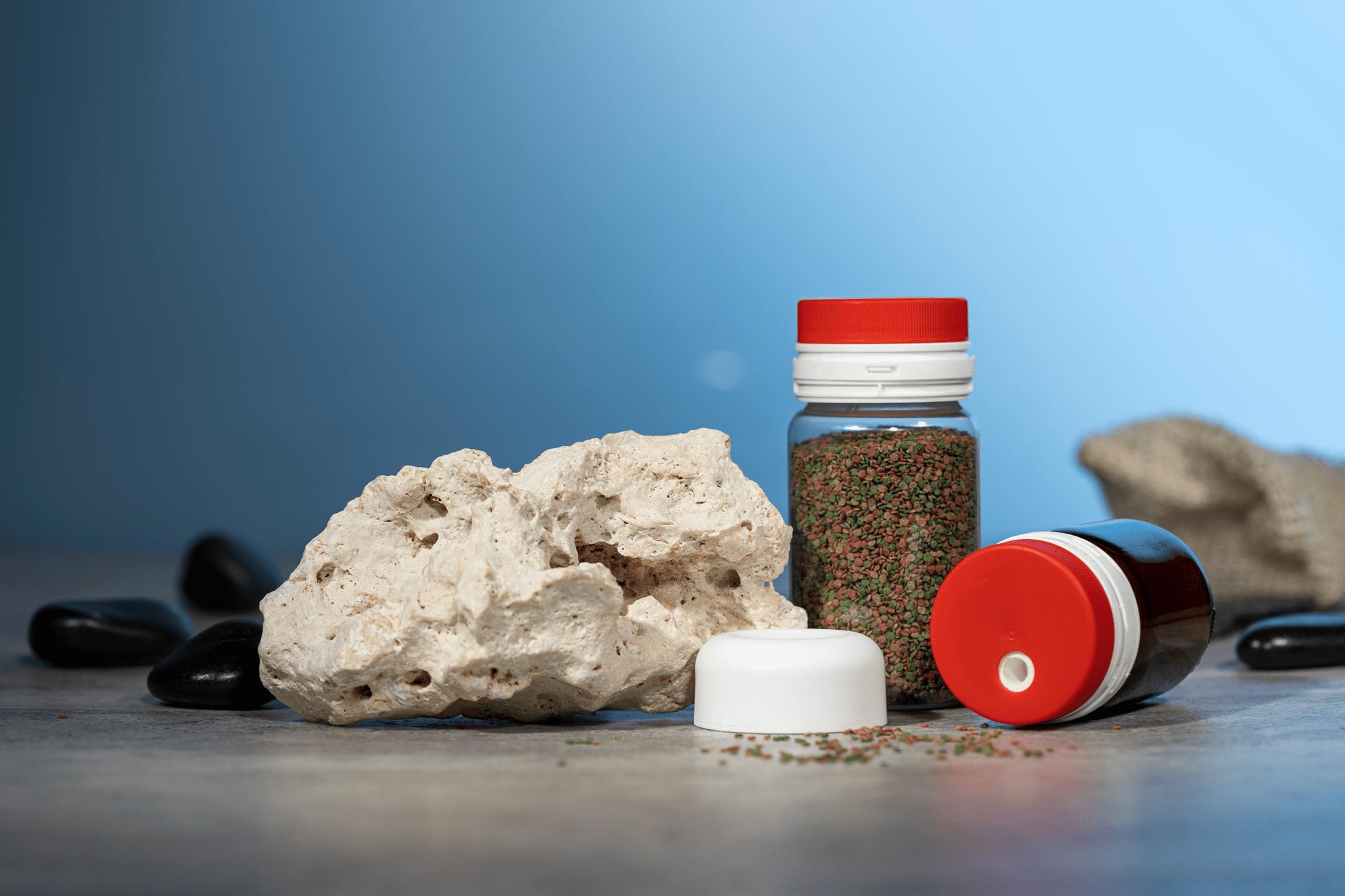 Granulatdosierer: Anwendungsbeispiel Fischfutter