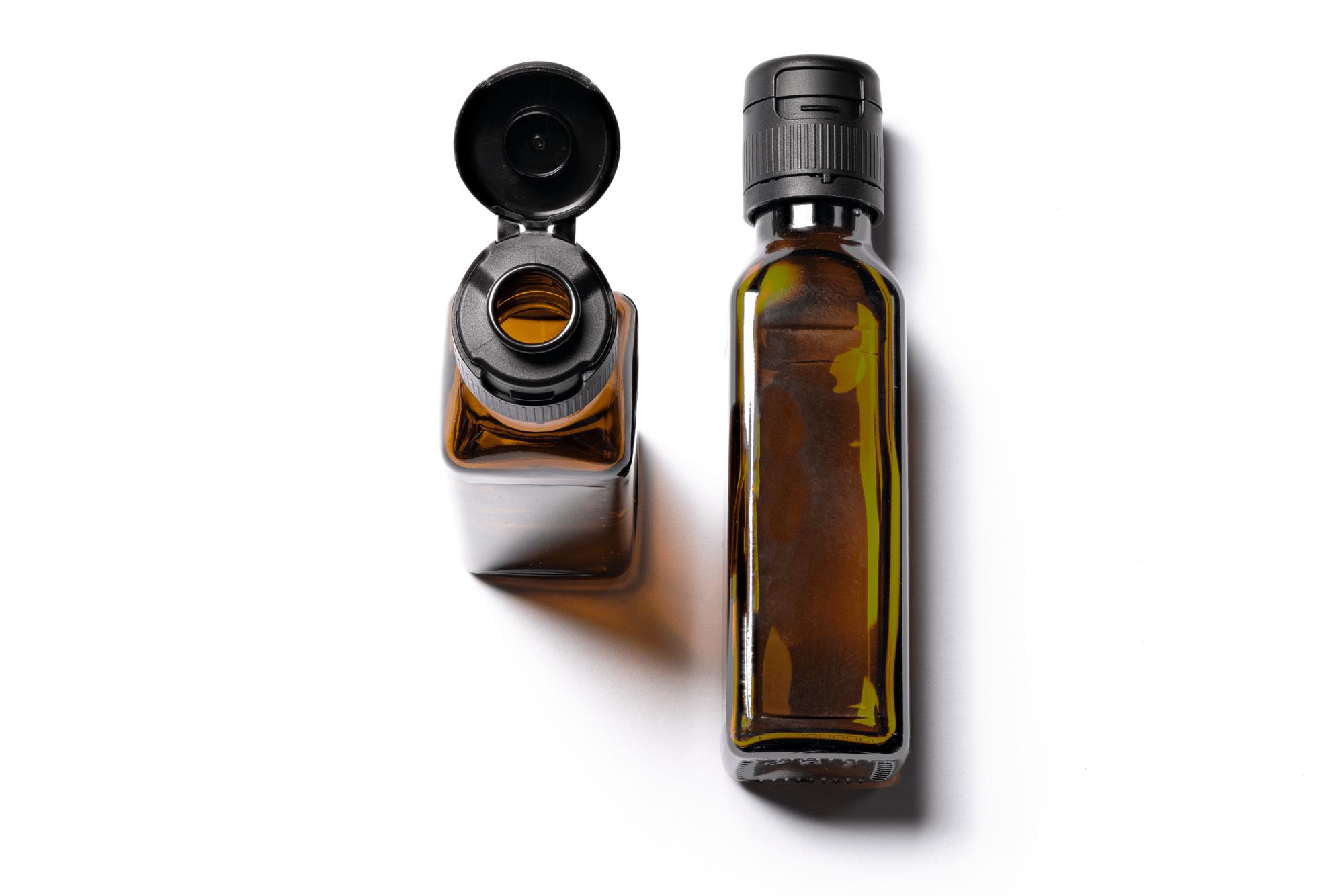 Marasca Flasche 100 ml mit Lotus Verschluss schwarz